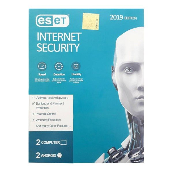 آنتی ویروس eset internet security  دوکاربره